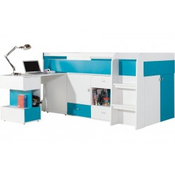 Bed with desk Gobi 21
