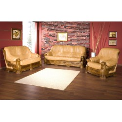 Rustic Sofa Set Flores