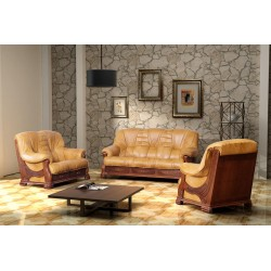 Rustic Sofa Set Frost