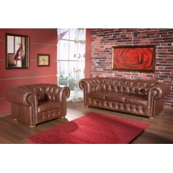 Rustic Sofa Set Fresia 3+2