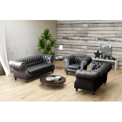 Rustic Sofa Set Fossa